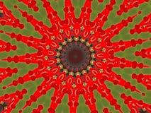 Pastillas de goma rojas Imagen de archivo