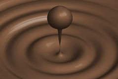 Pastille de chocolat Images stock