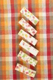 Pastille with marmalade Royalty Free Stock Images