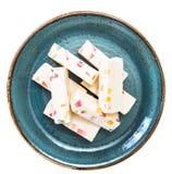 Pastilles with marmalade Stock Photos