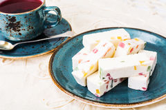 Pastilles with marmalade Stock Image