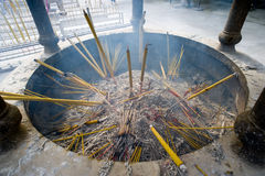 Pastilles in a temple in Hong Kong Stock Image