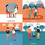 Pastime Of Friends Concept Royalty Free Stock Photos