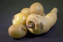 Pastinaken, Aardappels, Ui Royalty-vrije Stock Fotografie