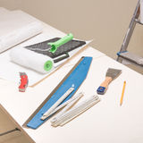 Pasting table royalty free stock photography