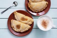 Pastissets, pastelarias típicas de Catalonia, Espanha Imagens de Stock Royalty Free