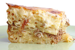 Pastitsio Royalty Free Stock Photography