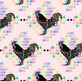 Pastle chicken Background Royalty Free Stock Image