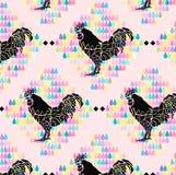 Pastle kurczaka tło Obraz Royalty Free