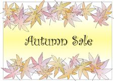 Free Pastle Leaves Autumn Royalty Free Stock Images - 3312159