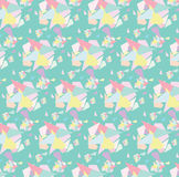 Pastle-Muster Hintergrund Stockbilder