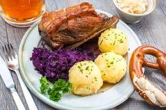 Pasto bavarese fotografie stock
