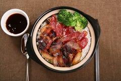 Pasto cinese della salsiccia fotografie stock libere da diritti