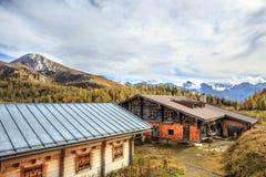 Pasto da montanha no mar dos reis em Berchtesgaden Imagens de Stock Royalty Free