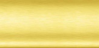 Pasto de bronce simple de la hoja del extracto del metal del color oro del fondo del vintage de latón de la placa del cromo del  imagen de archivo