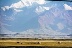 Pasto de la montaña foto de archivo