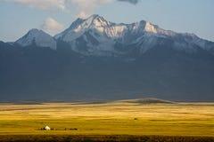 Pasto de la montaña fotos de archivo libres de regalías