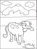 Pasto de la vaca libre illustration