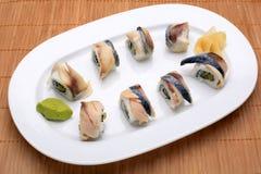 Pasto dei sushi Fotografie Stock