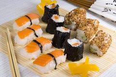 Pasto dei sushi Immagine Stock Libera da Diritti