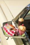 Pasto del drive-in Fotografia Stock Libera da Diritti