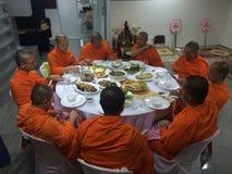 Pasto del monaco Immagini Stock Libere da Diritti