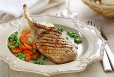Pasto del porco Fotografia Stock
