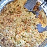 Pasto del riso Fotografia Stock