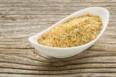 Pasto del seme di lino Immagini Stock