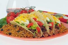 Pasto del Taco Fotografie Stock