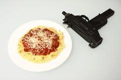 Pasto della mafia Fotografie Stock Libere da Diritti