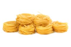 Pasto della pasta per il pranzo Fotografie Stock