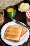 Pasto della prima colazione Fotografie Stock Libere da Diritti