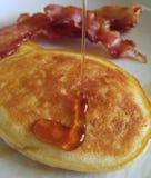 Pasto della prima colazione di Declious fotografie stock libere da diritti