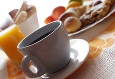 Pasto di mattina Fotografia Stock