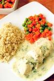 Pasto dietetico Fotografia Stock Libera da Diritti