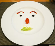 Pasto divertente Fotografie Stock