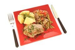 Pasto gastronomico Fotografie Stock Libere da Diritti