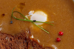 Pasto gastronomico Fotografia Stock Libera da Diritti