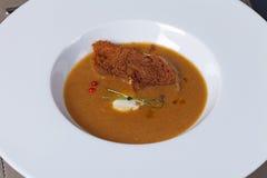 Pasto gastronomico Fotografie Stock