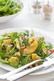Pasto gastronomico dell'insalata Fotografia Stock Libera da Diritti