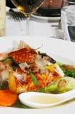 Pasto giapponese dei frutti di mare Immagine Stock