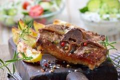 Pasto greco Fotografia Stock