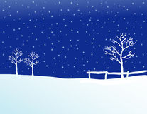 Pasto II del invierno stock de ilustración