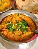 Pasto indiano con il pollo Korma Immagine Stock