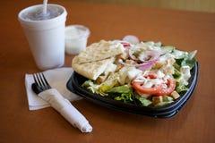 Pasto sano dell'insalata Fotografia Stock Libera da Diritti