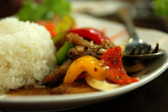 Pasto tailandese immagine stock libera da diritti