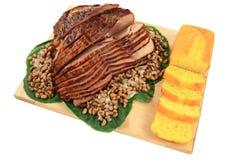 Pasto tradizionale per il giorno dei nuovi anni Immagine Stock Libera da Diritti