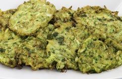 Pasto turco/greco tradizionale; Mucver dello zucchini Immagini Stock Libere da Diritti