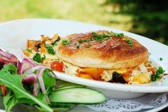 Pasto vegetariano Immagini Stock Libere da Diritti